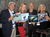 Dr. David E. Guggenheim (third from left)