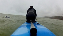 """Dave """"Rasta"""" Rastovich returns to paddle for the Maui's Dolphins and New Zealand coastal habitat!"""