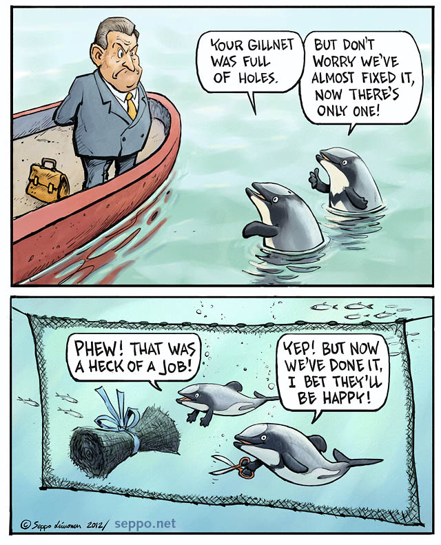 Voices from Auckland Sounding Loud & Clear for the Maui's Dolphins