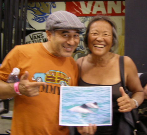 """The Cab"" Steve Caballero & Peggy Oki"